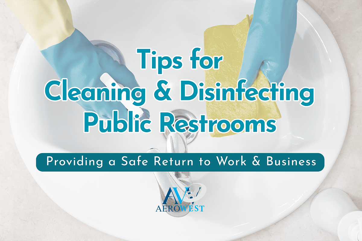 cleaning public restrooms