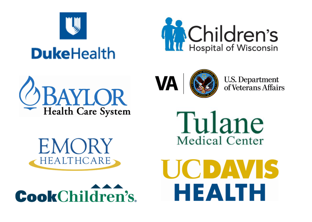hospital customer logos