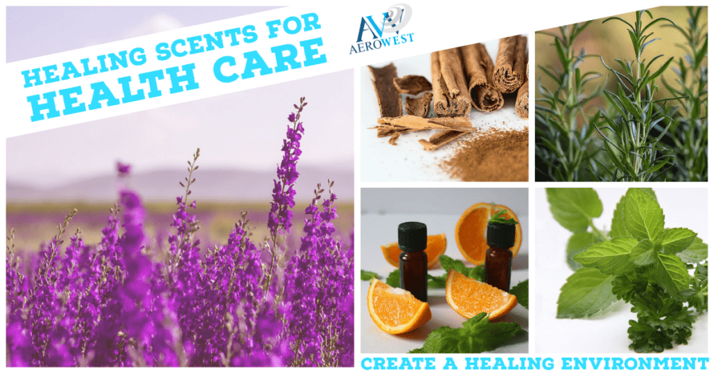 healing scent for health care environments